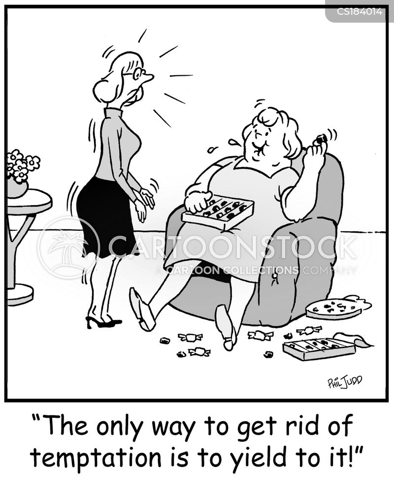 glutton cartoon