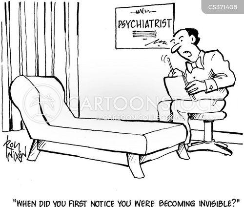noticing cartoon