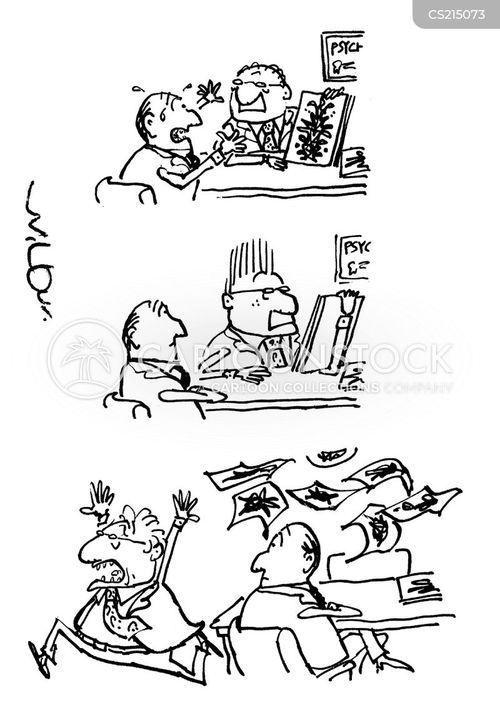 ink blots cartoon