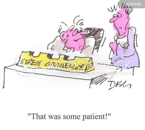 stressy cartoon