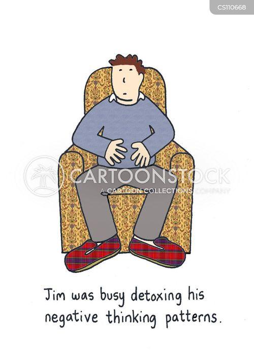 detoxing cartoon