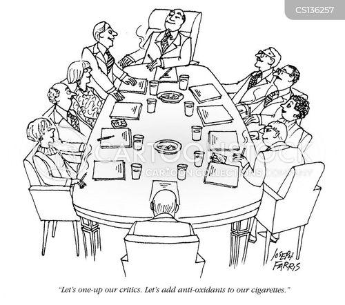 tobacco industry cartoon