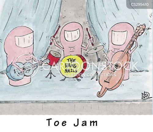 toe jam cartoon