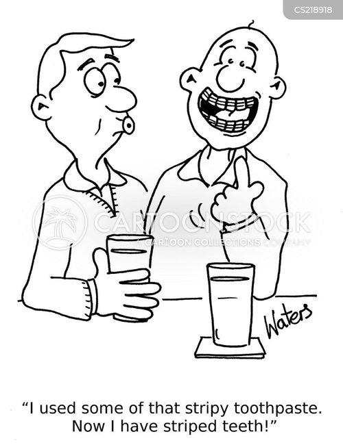 oral cartoon
