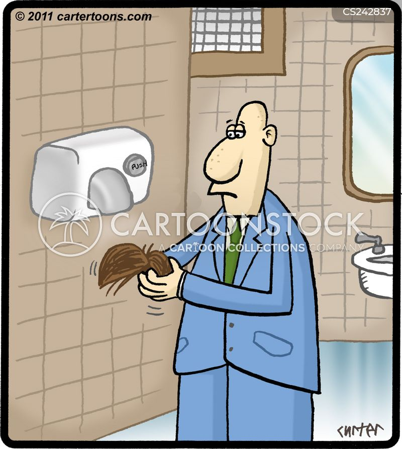 rest rooms cartoon
