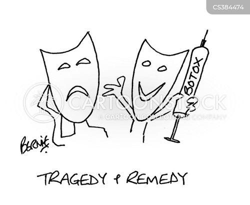 botox injections cartoon