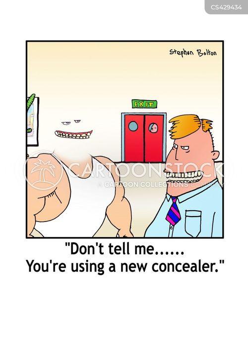 conceal cartoon