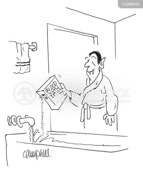 bubble bath cartoon