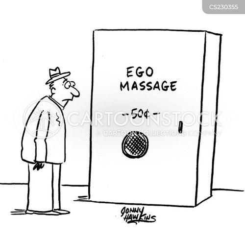 ego building cartoon