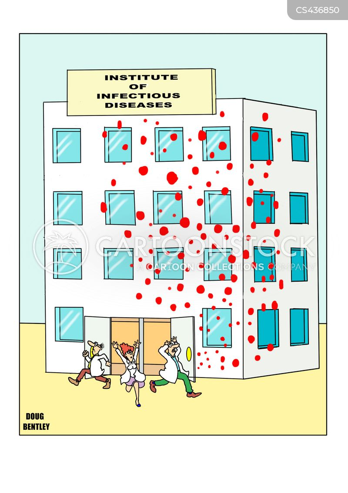microbes cartoon