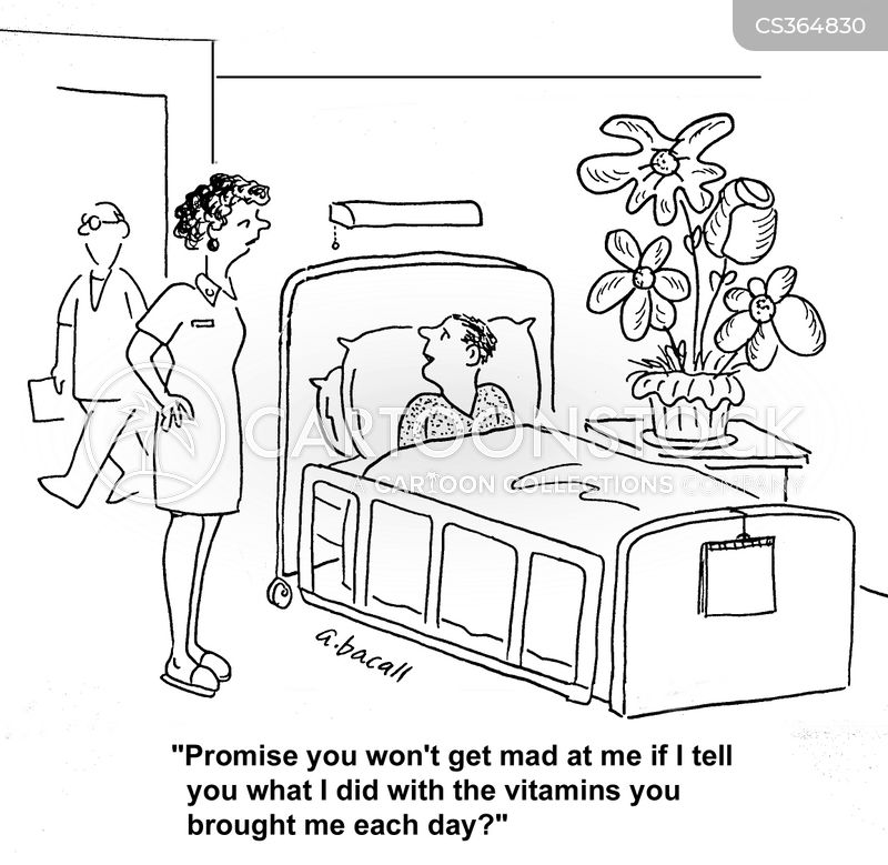 vitamin tablet cartoon