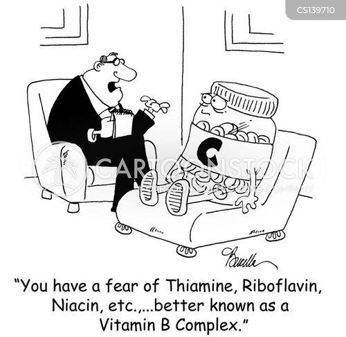riboflavin cartoon