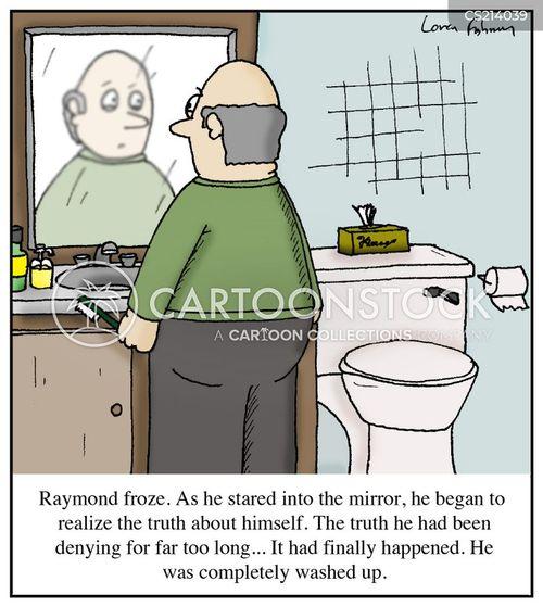 personal care cartoon