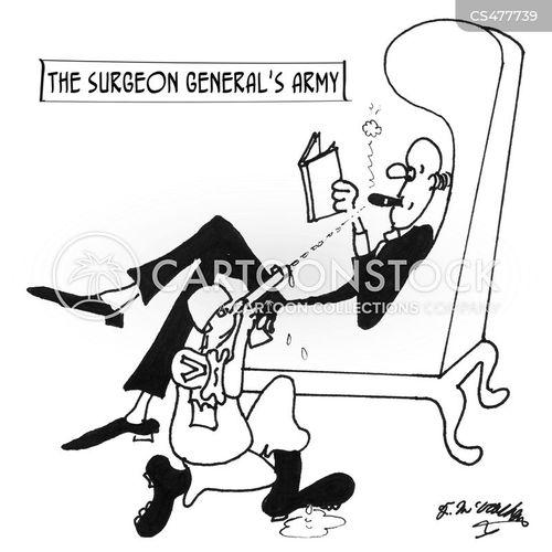 smoking campaign cartoon