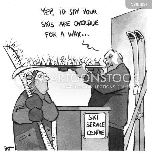 wax cartoon