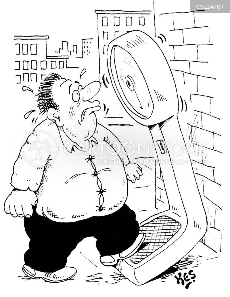 Weighing Scale Cartoons And Comics