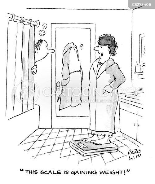 disgruntled wife cartoon