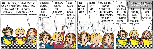 weight consciousness cartoon