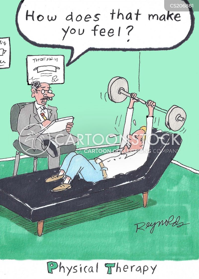 physical therapy cartoons and comics funny pictures from