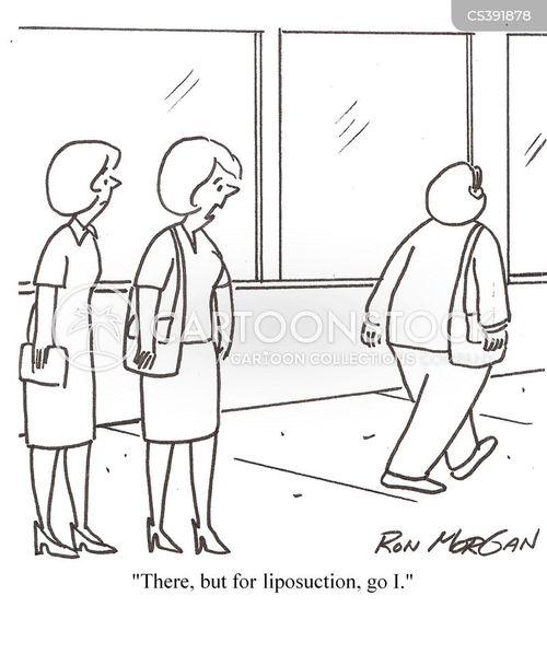 liposuctions cartoon
