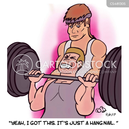 hangnail cartoon