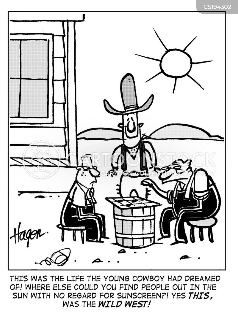 suntan lotion cartoon
