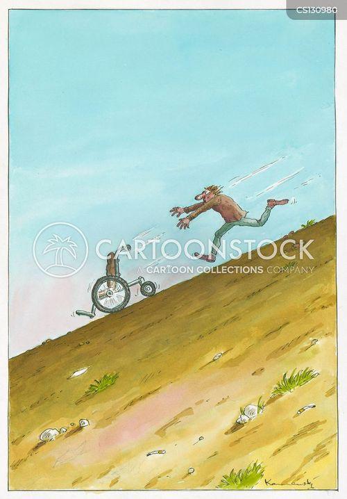 descent cartoon