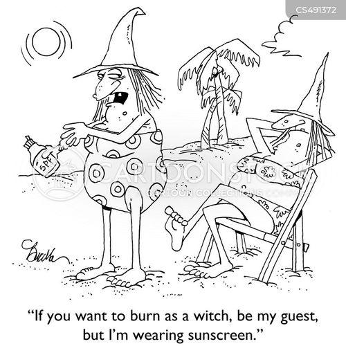 witchhunt cartoon