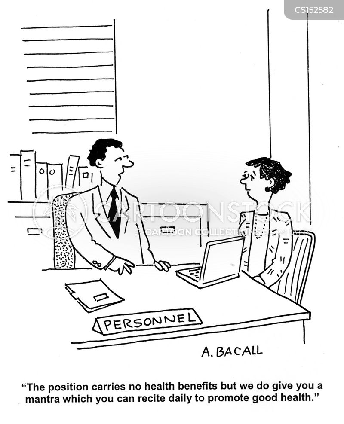 health benefits cartoon