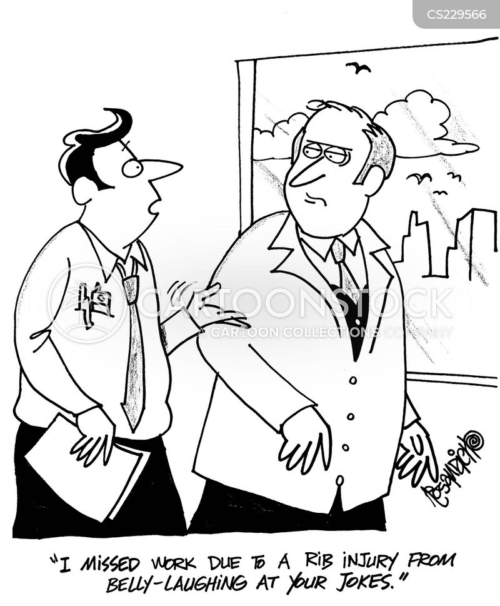 off work cartoon