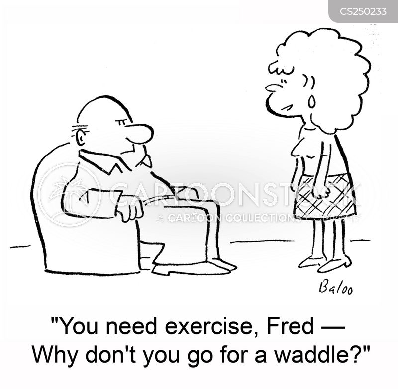 waddles cartoon