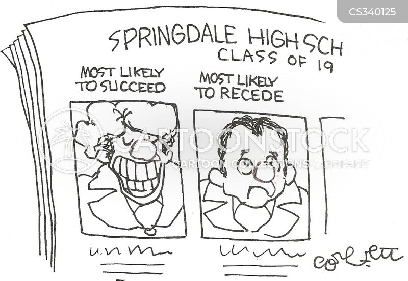 yearbook cartoon