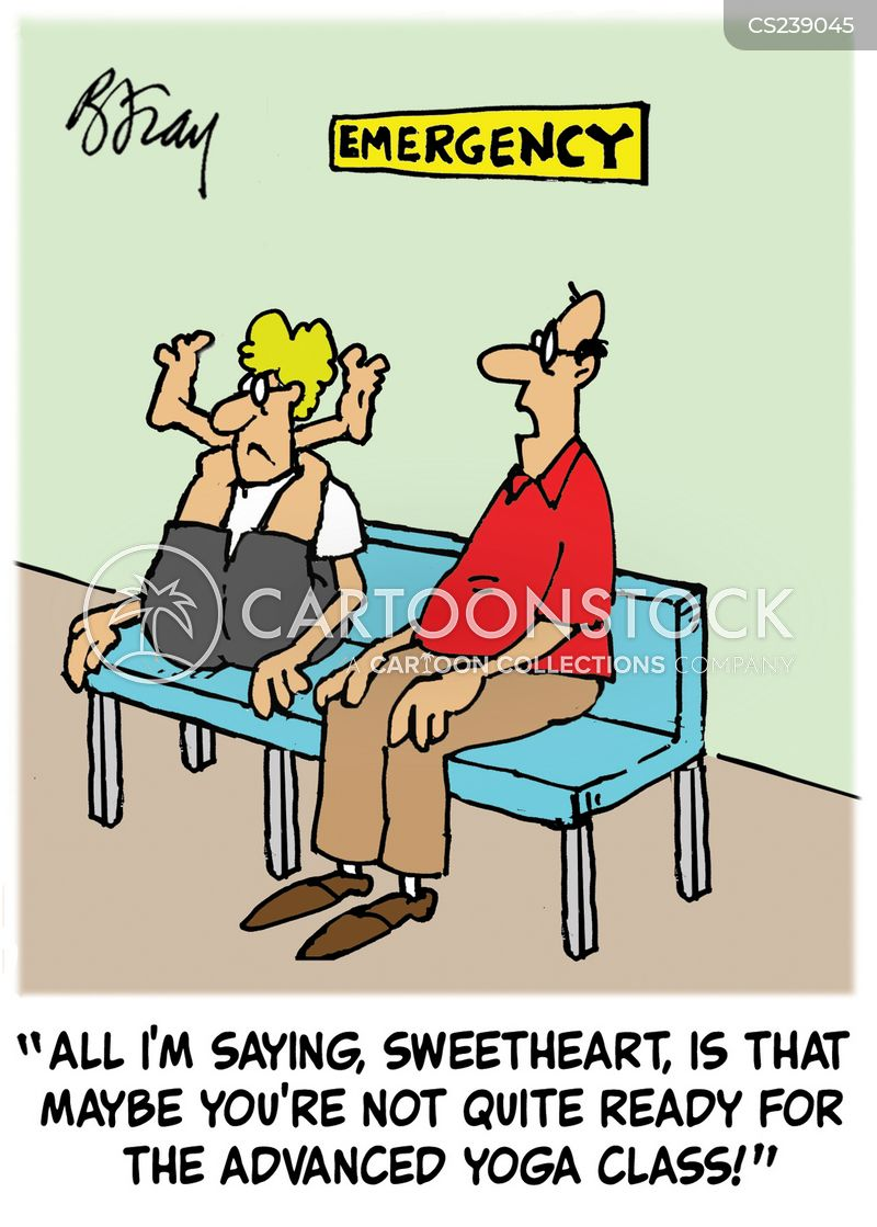 Advanced Yoga Cartoons And Comics Funny Pictures From Cartoonstock