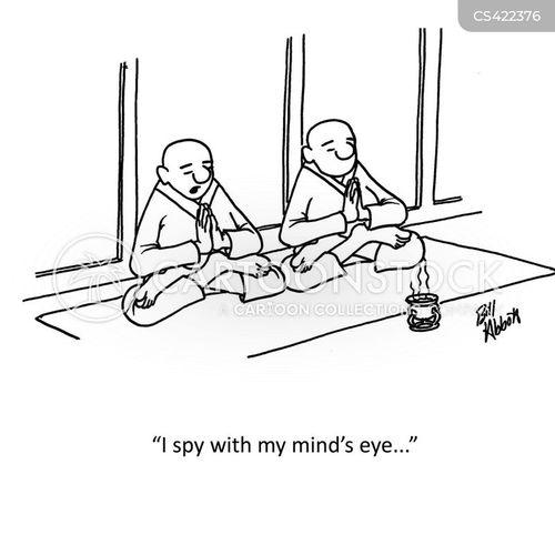 eye spy cartoon