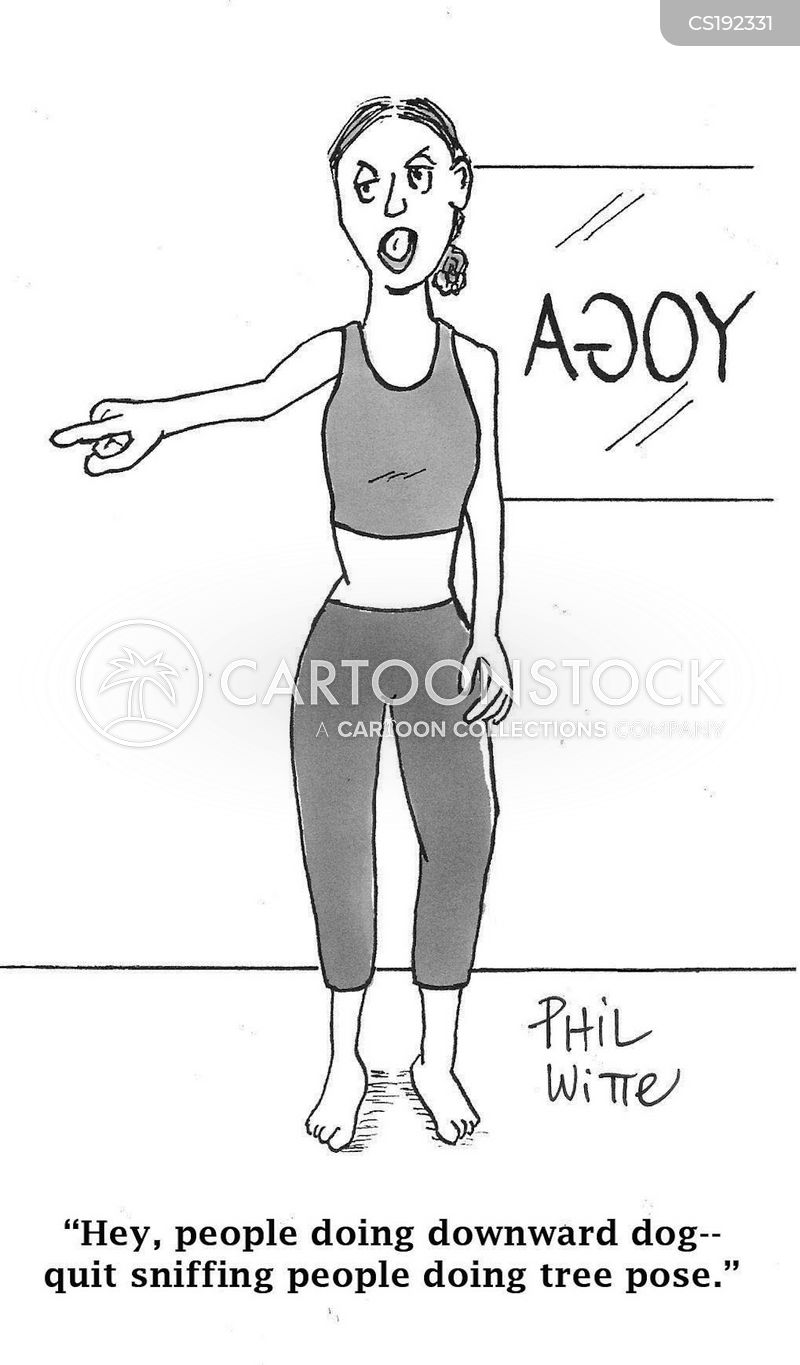 Yoga Poses Cartoons And Comics Funny Pictures From Cartoonstock