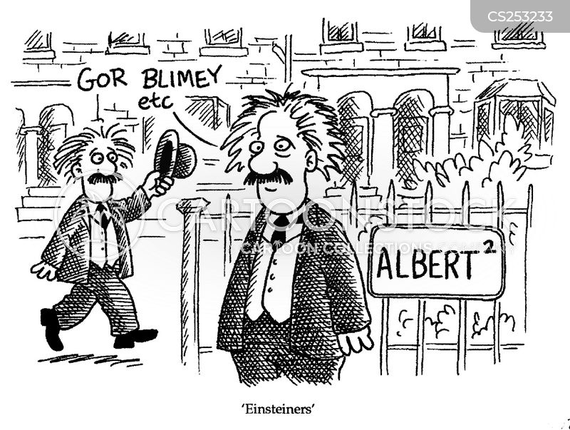 einsteiners cartoon