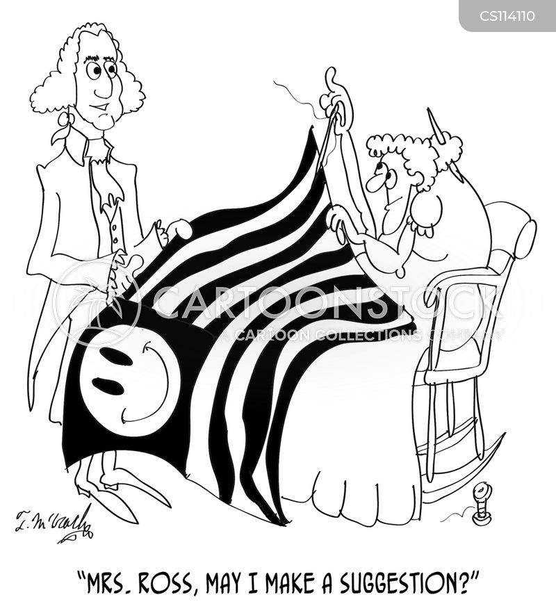 betsy ross cartoon