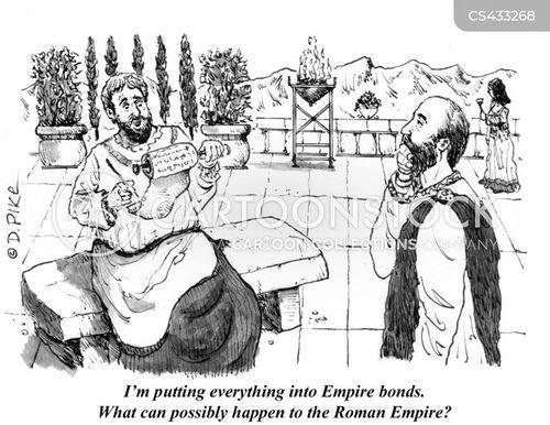 The Fall Of The Roman Empire cartoon 2 of 2