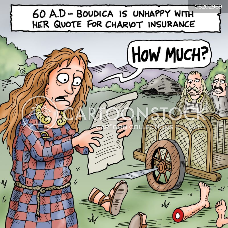 Boudicca Cartoons And Comics