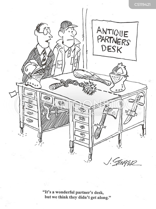 antique dealer cartoon
