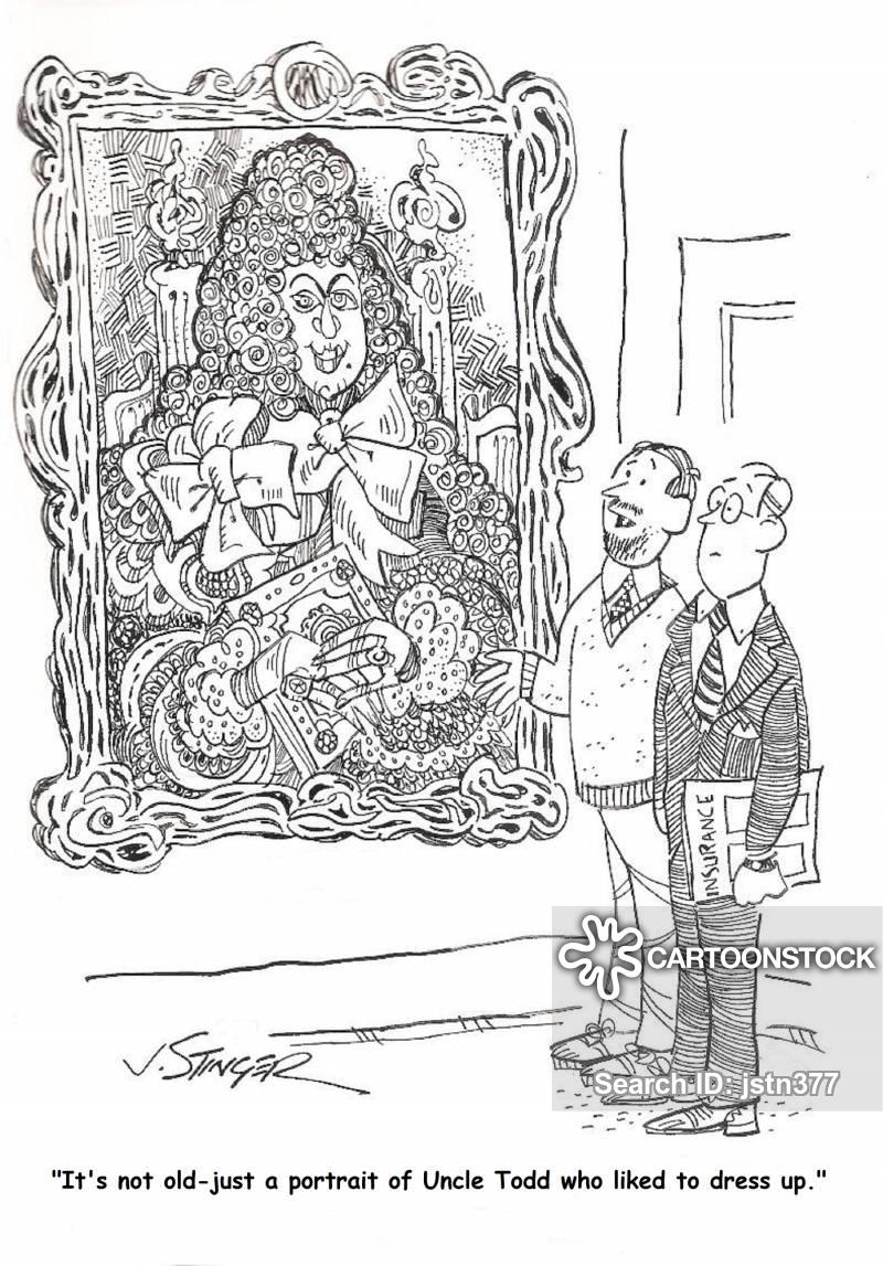 family portrait cartoon