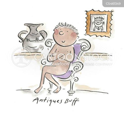 antiquities dealers cartoon