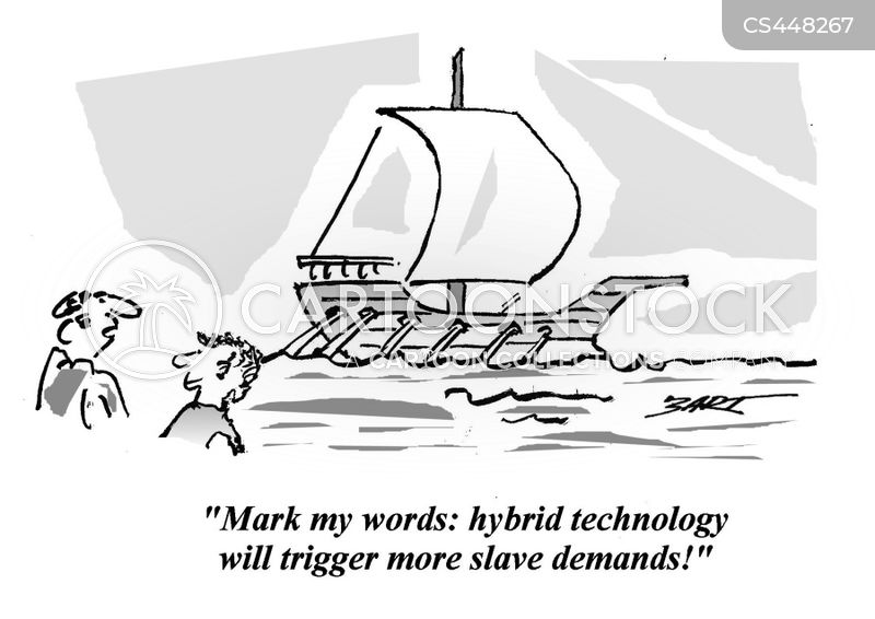 galley slaves cartoon