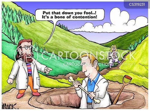 contention cartoon