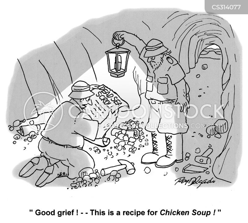 chicken soups cartoon