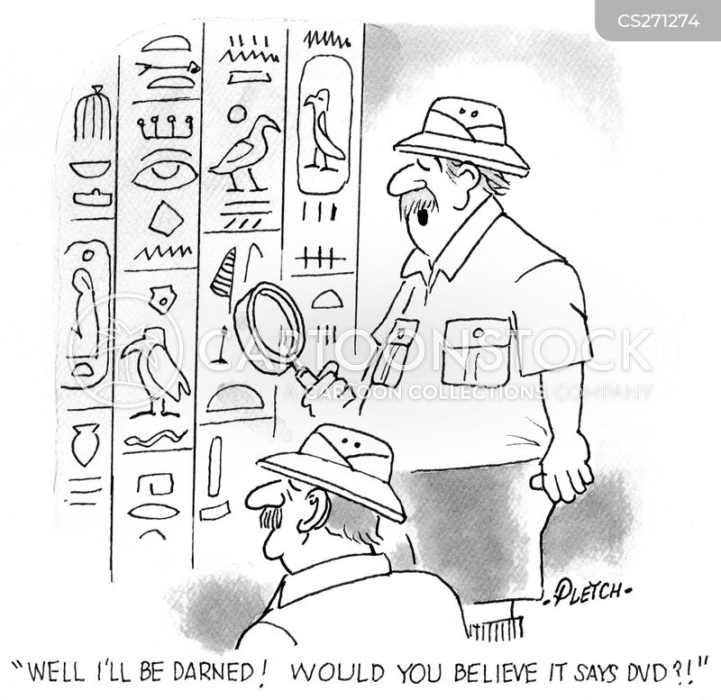 Hieroglyphs Cartoons And Comics Funny Pictures From