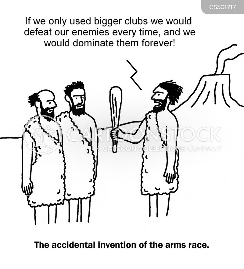 arms races cartoon