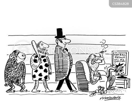 simian cartoon