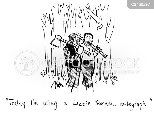 ax cartoon