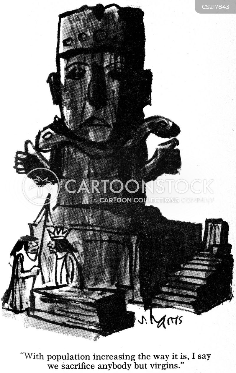 mesoamerican cartoon